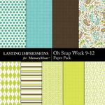 Oh Snap Week 9-12 Paper Pack-$1.99 (Lasting Impressions)