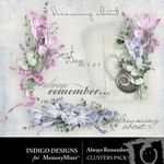 Always Remember ID Cluster Pack-$3.49 (Indigo Designs)