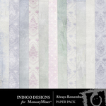 Always Remember ID Paper Pack-$3.49 (Indigo Designs)