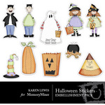 Halloween Stickers Vol 1-$2.00 (Karen Lewis)