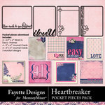 Heartbreaker FD Pocket Pieces-$3.49 (Fayette Designs)