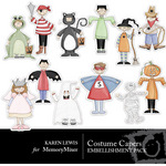 Costume Capers Sticker Pack-$1.90 (Karen Lewis)