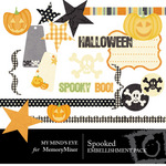 Spooked Embellishment Pack-$3.50 (My Minds Eye)