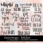 Ink Jam My Funny Valentine Pack-$3.99 (Fayette Designs)