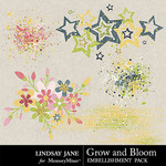 Grow and Bloom Scatterz Pack-$1.40 (Lindsay Jane)