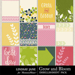 Grow and Bloom Journal Cards Pack-$1.99 (Lindsay Jane)