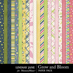 Grow and Bloom Paper Pack-$2.49 (Lindsay Jane)