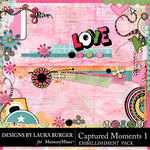Captured Moments 1 Borders Pack-$5.99 (Laura Burger)