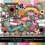 Captured Moments 1 Combo Pack-$7.99 (Laura Burger)
