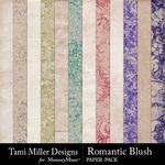 Romantic Blush Paper Pack-$1.80 (Tami Miller)