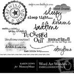 Wordart Wonders Vol 7-$2.50 (Karen Lewis)