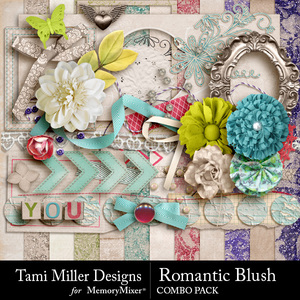 Romantic blush combo pack medium