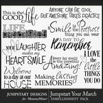 Jumpstart Your March 2017 WordArt Pack-$2.80 (Jumpstart Designs)