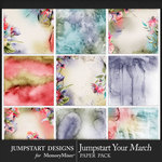Jumpstart Your March 2017 Watercolor Papers-$3.99 (Jumpstart Designs)