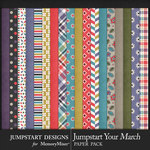 Jumpstart Your March 2017 Paper Pack-$2.80 (Jumpstart Designs)