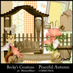 Peaceful Autumn Combo Pack-$3.49 (Becky's Creations)