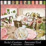 Awesome God Combo Pack-$3.49 (Becky's Creations)