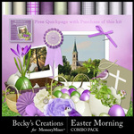 Easter Morning Combo Pack-$4.99 (Becky's Creations)