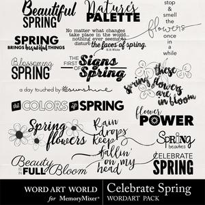 Celebrate spring waw medium
