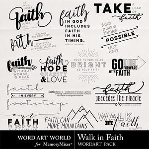 Walk in faith medium