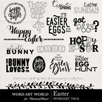 Easter WAW WordArt Pack-$2.49 (Word Art World)