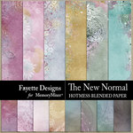 The New Normal Hotmess Blended Papers-$3.99 (Fayette Designs)