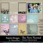 The New Normal Pocket Pieces Pack-$2.80 (Fayette Designs)