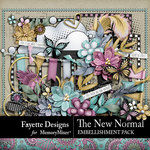 The New Normal Embellishment Pack-$3.49 (Fayette Designs)