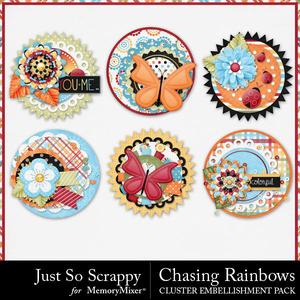 Chasing rainbows cluster seals medium
