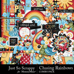 Chasing Rainbows Combo Pack-$3.49 (Just So Scrappy)