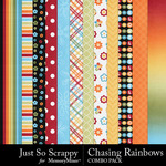 Chasing rainbows kit papers small