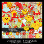 Spring Chicks Combo Pack-$4.99 (CutiePie Scraps)
