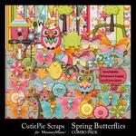 Spring Butterflies Combo Pack-$4.99 (CutiePie Scraps)