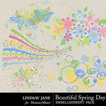 Beautiful Spring Day Scatterz Pack-$1.99 (Lindsay Jane)