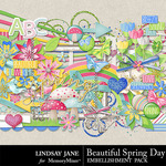 Beautiful Spring Day Embellishments-$3.49 (Lindsay Jane)