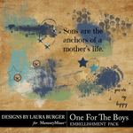 One for the Boys Scatters Pack-$4.99 (Laura Burger)