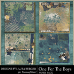 One for the Boys Stacked Paper Pack-$4.99 (Laura Burger)