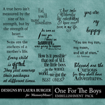 One for the Boys WordArt Pack-$4.99 (Laura Burger)