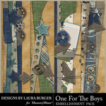 One for the Boys Borders Pack-$3.49 (Laura Burger)