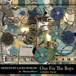 One for the Boys Combo Pack-$7.99 (Laura Burger)