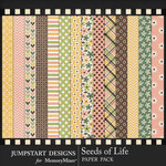 Seeds of Life Patterned Paper Pack-$3.99 (Jumpstart Designs)