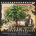 Seeds of Life Front Porch Embellishments-$3.99 (Jumpstart Designs)