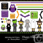 Happy Halloween Embellishment Pack-$3.00 (Melissa Nuttall)