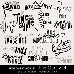 Live out loud medium