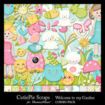 Welcome to my Garden Combo Pack-$4.99 (CutiePie Scraps)