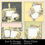 Daisy Chain JSS Quick Pages-$1.99 (Just So Scrappy)