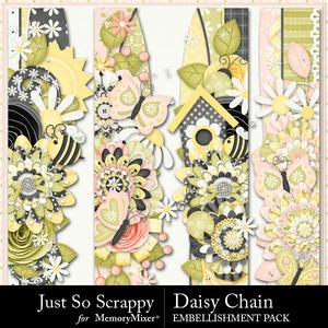 Daisy chain page borders medium