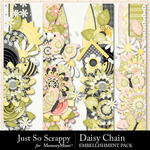 Daisy Chain JSS Border Pack-$1.00 (Just So Scrappy)