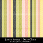 Daisy Chain JSS Embossed Paper Pack-$1.99 (Just So Scrappy)