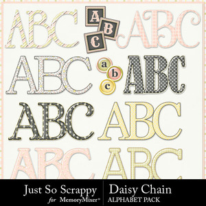 Daisy chain alphabets medium